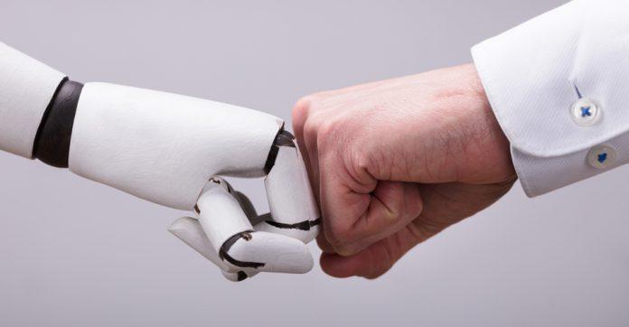 De robot is de baas